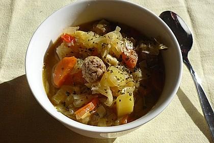 Kartoffel-Möhren Suppe 1