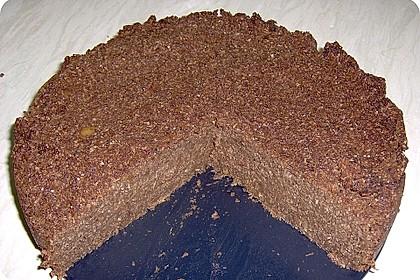 Apfel-Kokosraspel-Reis Kuchen