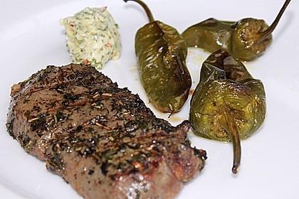Peperoni im Ofen oder auf dem Grill gebacken 4