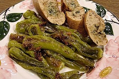 Peperoni im Ofen oder auf dem Grill gebacken 6