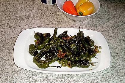 Peperoni im Ofen oder auf dem Grill gebacken 9