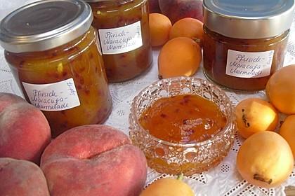 Pfirsich-Maracuja-Marmelade
