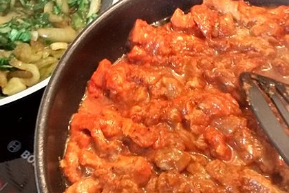 Koreanisches Feuerfleisch (Bild)