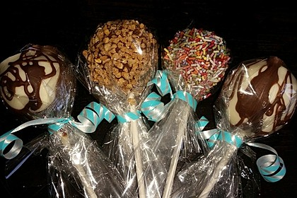 Cake-Pops mit Nutella-Frosting 12