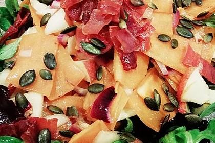 Kürbis-Apfel-Salat (Bild)