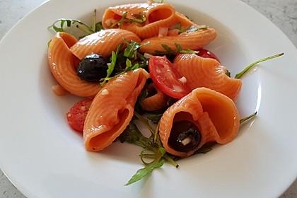Mediterraner Nudelsalat mit Rucola 2