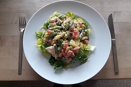 Hähnchenfilet mit Kartoffel-Bohnen-Salat 12