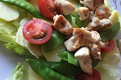 Hähnchenfilet mit Kartoffel-Bohnen-Salat 10
