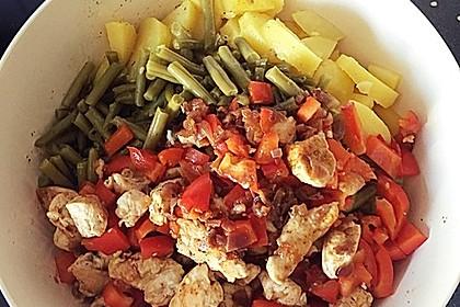 Hähnchenfilet mit Kartoffel-Bohnen-Salat 17