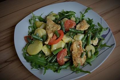 Hähnchenfilet mit Kartoffel-Bohnen-Salat 5