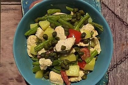 Hähnchenfilet mit Kartoffel-Bohnen-Salat 7