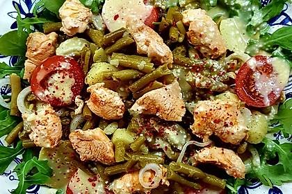 Hähnchenfilet mit Kartoffel-Bohnen-Salat 3