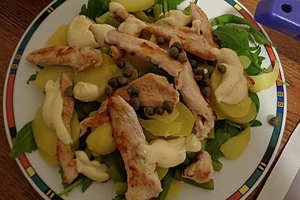 Hähnchenfilet mit Kartoffel-Bohnen-Salat 6