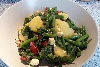 Hähnchenfilet mit Kartoffel-Bohnen-Salat 11