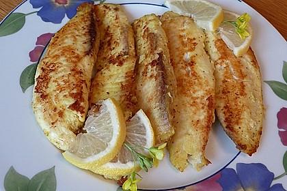 Macha - gebratenes Fischfilet