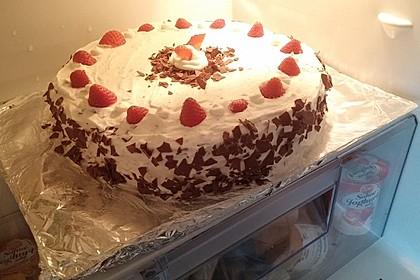 Kinderpinguin Torte 8