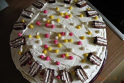 Kinderpinguin Torte 5