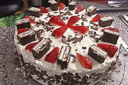 Kinderpinguin Torte 4