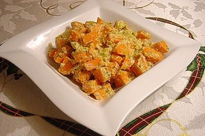 Süßkartoffel-Lauch-Pfanne 6