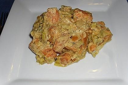 Süßkartoffel-Lauch-Pfanne 9
