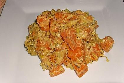 Süßkartoffel-Lauch-Pfanne 13