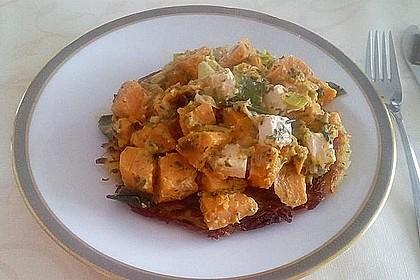 Süßkartoffel-Lauch-Pfanne 14