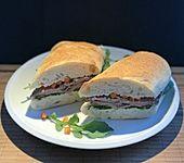 Steak-Sandwich (Bild)