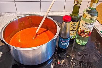 Michas scharfe Currywurst 1