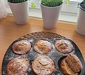 Mandel - Sahne - Muffins (Bild)