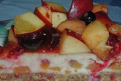Pfirsich - Cheesecake