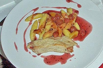 Entenbrust an Schupfnudeln mit Trauben - Cassis - Sauce 5