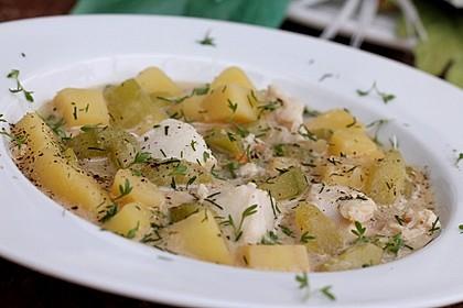 Helgoländer Kartoffelgulasch mit Fisch 1