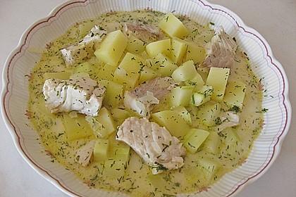 Helgoländer Kartoffelgulasch mit Fisch