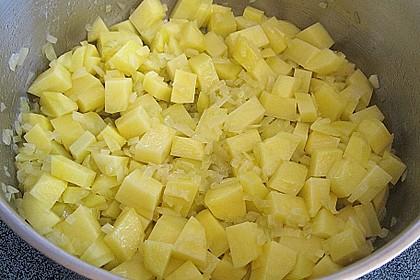 Helgoländer Kartoffelgulasch mit Fisch 6