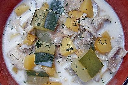 Helgoländer Kartoffelgulasch mit Fisch 3