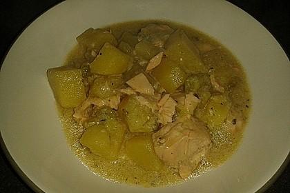 Helgoländer Kartoffelgulasch mit Fisch 5