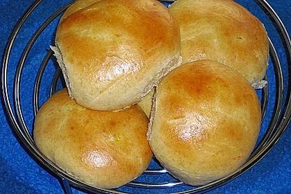 Finnische kleine süße Brötchen (Pikkupullat) 8