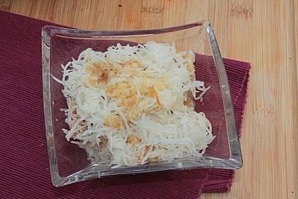 Apfel - Rettich - Salat 1