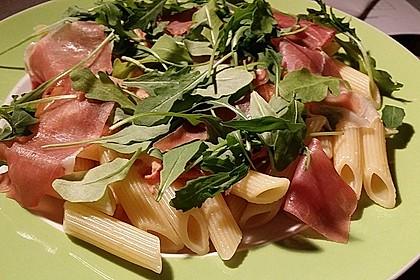 Pasta mit Rucola, Mascarpone und Parmaschinken 17