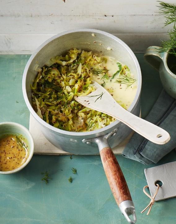 Wirsing In Senfrahm Ein Sehr Schönes Rezept Chefkoch