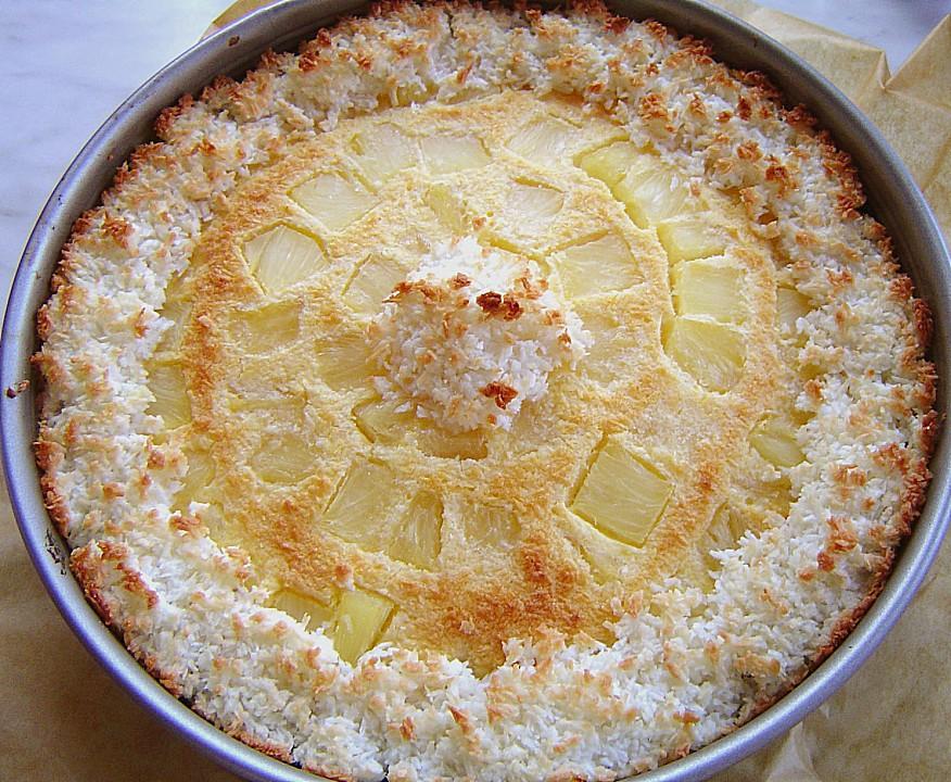 Ananas Kokos Kuchen Von Shany Chefkoch De