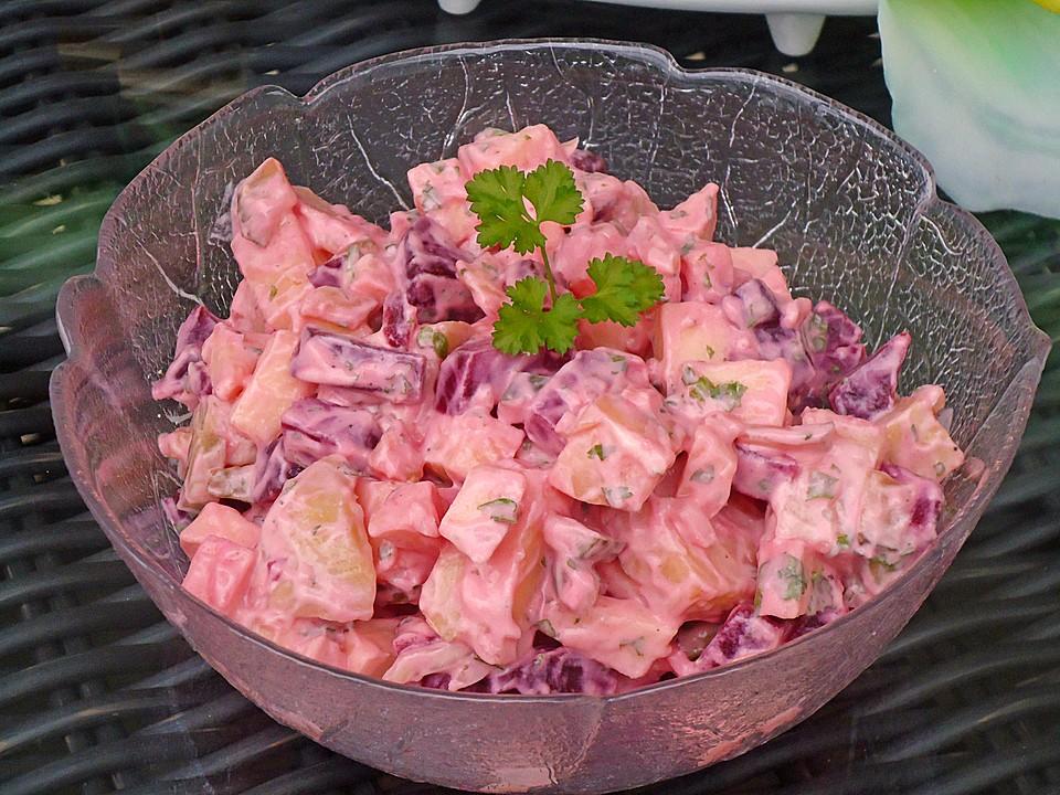 Roter Kartoffelsalat Von Angelika2603 Chefkochde