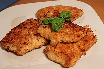 Parmesan - Hähnchen 2