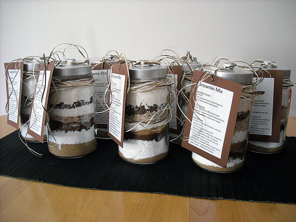 Brownie Backmischung Als Geschenk Von Joghurt Maus Chefkoch