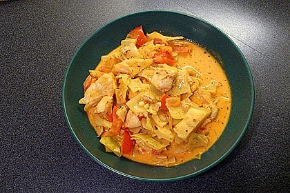 krümeltigers Spitzkohleintopf mit Paprika und Hühnerbrust 6