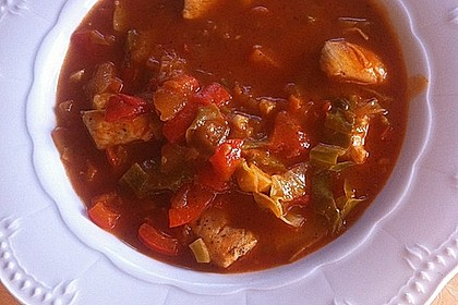 krümeltigers Spitzkohleintopf mit Paprika und Hühnerbrust 3