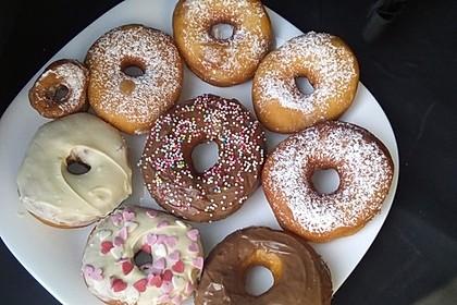 Amerikanische Donuts mit Apfelglasur 27