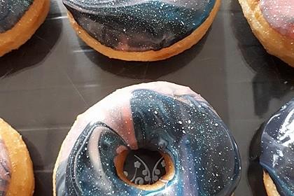 Amerikanische Donuts mit Apfelglasur 10