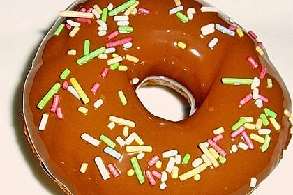 Amerikanische Donuts mit Apfelglasur 6