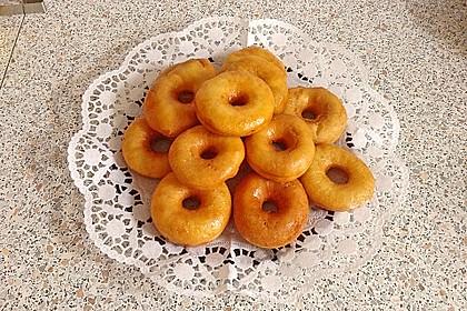 Amerikanische Donuts mit Apfelglasur 14